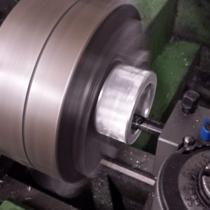 Manufacturing with a lathe