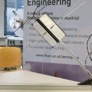 1:1 Modell des Kleinsatelliten PEGASUS. © FH Wiener Neustadt