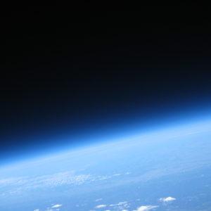 Das Bild wurde in 31,4km Höhe vom ÖWF-Stratosphärenballon Passepartout IIc anlässlich einer wissenschaftlichen Mission im Jahre 2008 aufgenommen. © ÖWF