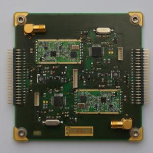 Die Kommunikationseinheit STACIE-Delta des Satelliten Pegasus. Gebaut wurde sie vom Satelliten-Kommunikationsteam des Österreichischen Weltraum Forums. © Michael Taraba