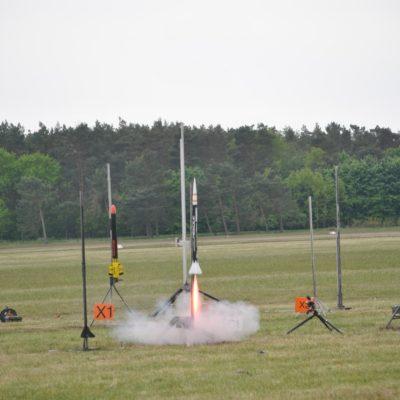 Needle Raketenstart