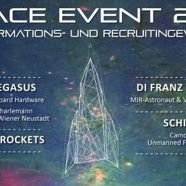 Einladung zum Space Event 2015