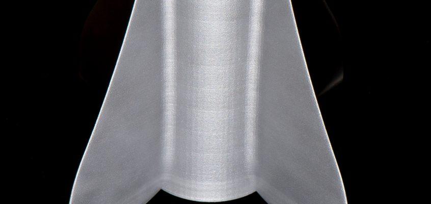 First 3D-Printed Aluminium Fincan!