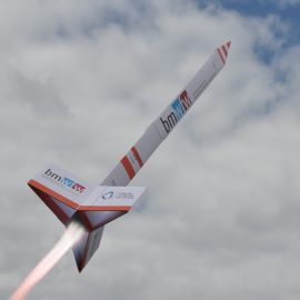 Raketenstart beim Europaforum Alpbach