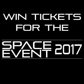 Gewinnspiel Space Event 2017