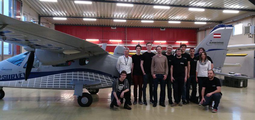 Space Team besucht Airborne Technologies