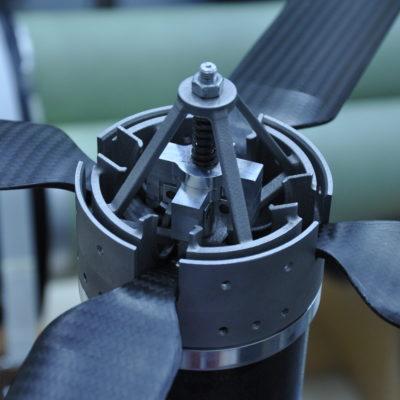 Flügelmechanismus Projekt Daedalus
