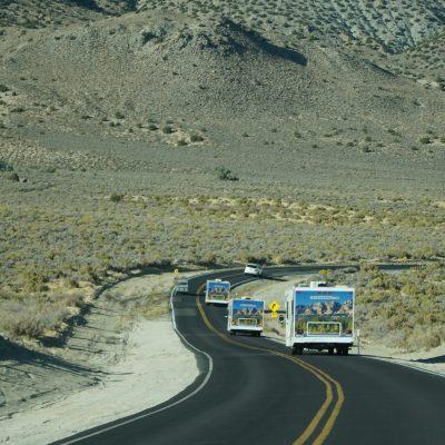 Fahrt durch Nevada