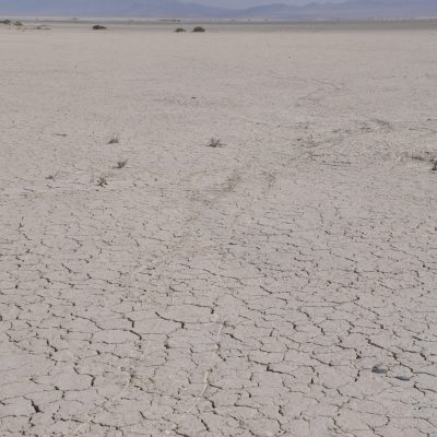 Die Unterstufe wurde durch den Wind ca. 100 m durch die Wüste geschleift