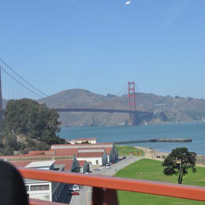 Reise nach San Francisco, da wir unsere Hardware bei unserem Sponsor BITMOVIN abholen mussten.