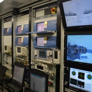 Ein Blick in den Telemetrie-Container