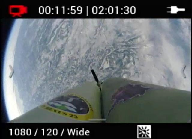 Ohne Fallschirm vom Weltraum zur Erde