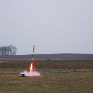 FIRST Raketenstart
