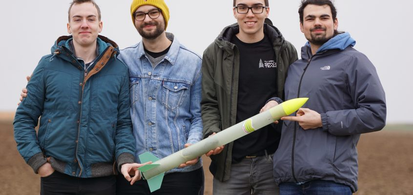 FIRST rocket launches in Straubing